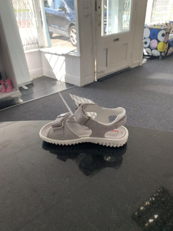 Superfit silver leather sandals 3